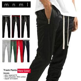 【SALE】mnml ミニマル トラックパンツ TRACK PANTS 17ML-AW271P メンズ レディース 春夏秋冬 ラインパンツ ブラック グレー グリーン レッド ネイビー S M L XL