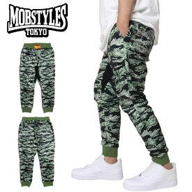 モブスタイルス MOBSTYLES スキニーパンツ ジャージ スリム スウェットパンツ メンズ レディース 大きいサイズ かっこいい SKINNY JERSEY PANTS カモ