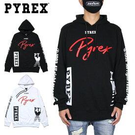 【SALE50%OFF】パイレックス パーカー PYREX プルオーバーパーカー メンズ レディース ブランド 大きいサイズ おしゃれ おすすめ 黒 白 HOOD 41266 ブラック ホワイト M L XL XXL