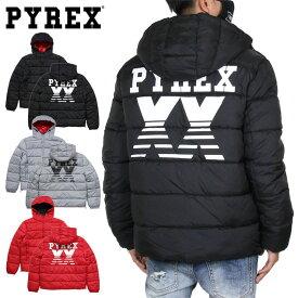 【SALE50%OFF】パイレックス ジャケット PYREX ダウンジャケット 中綿ジャケット メンズ レディース ブランド 大きいサイズ JACKET 41206 ブラック グレー レッド M L XL XXL