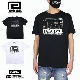 【お買い物マラソン 4時間限定20%OFFクーポン配布中】リバーサル reversal Tシャツ 半袖Tシャツ ドライTシャツ rvddw メンズ レディース ブランド 大きいサイズ おしゃれ おすすめ 黒 白 FOREST BIG MARK DRY TEE rv21ss015 ブラック ホワイト M L XL XXL