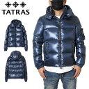【冬物最終処分SALE】タトラス TATRAS ダウンジャケット ホワイトグース メンズ レディース 大きいサイズ BELBO MTA4562 NAVY ネイビー M(2) L(3) XL(4)