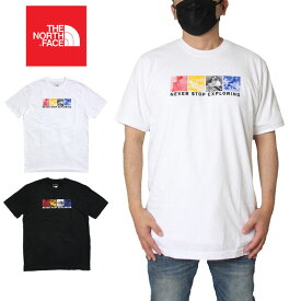【衝撃の最大15%OFFクーポン配布中】ノースフェイス THE NORTH FACE Tシャツ 無地 半袖 ハーフドーム メンズ レディース 大きいサイズ M S/S FREE SOLO HALF DOME TEE NF0A3X6S ホワイト(FN4) ブラック(JK3) S M L XL