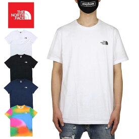 ノースフェイス Tシャツ THE NORTH FACE 半袖Tシャツ メンズ レディース アウトドア ブランド バックプリント ロゴ 綿100% 大きいサイズ かっこいい SIMPLE DOME TEE ホワイト ブラック ネイビー S M L XL XXL