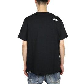 【GWはポイントが激熱!ポイント最大20倍】【P5倍】ノースフェイス Tシャツ THE NORTH FACE 半袖Tシャツ メンズ レディース アウトドア ブランド バックプリント ロゴ 綿100% 大きいサイズ かっこいい S/S WOOD DOME TEE NF00A3G1 ホワイト ブラック S M L XL XXL