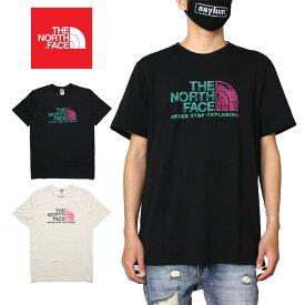 【6/3(水)23:59まで 店内全品ポイント10倍確定】ノースフェイス Tシャツ THE NORTH FACE M S/S RUST 2 TEE NF0A4M68 大きいサイズ メンズ 綿100% アウトドア ブランド ハーフドームロゴ バックプリント かっこいい お洒落 ホワイト ブラック S M L XL XXL