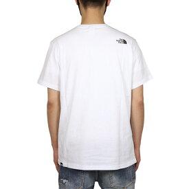 ノースフェイス Tシャツ THE NORTH FACE 半袖Tシャツ ハーフドーム ボックスロゴ メンズ レディース アウトドア ブランド バックプリント ロゴ 綿100% 大きいサイズ かっこいい FINE TEE ホワイト ブラック S M L XL XXL