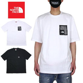 【お買い物マラソン 10%OFFクーポン配布中】ノースフェイス Tシャツ THE NORTH FACE 半袖Tシャツ メンズ レディース ブランド 大きいサイズ アウトドア 綿100% コットン おしゃれ おすすめ 白 黒 M BLACK BOX CUT TEE ホワイト ブラック S M L XL XXL