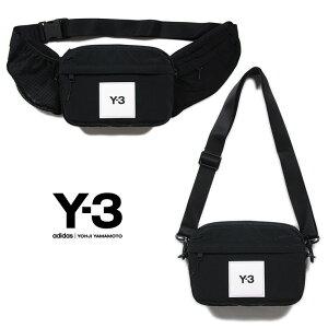 Y-3 ウエストバッグ ワイスリー ショルダーバッグ ウエストポーチ メンズ レディース ブランド Y3 ADIDAS YOHJI YAMAMOTO アディダス ヨウジヤマモト おしゃれ おすすめ 黒 Y-3 CLASSIC SLING BAG GT8920 ブラ