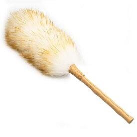 【送料無料】[Linodes]はたき ほこり取り ダチョウの毛 家庭用 車用 掃除道具 部屋掃除 竹の柄 ふわふわ おしゃれ