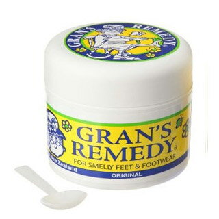 グランズレメディ (足・靴の消臭、除菌) 50g (無香料)【並行輸入品】