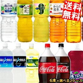 【送料無料】コカコーラ2Lペットボトルシリーズ選べる2ケース 計12本セット(6本×2ケース)[コカ・コーラ]※北海道800円・東北400円の別途送料加算
