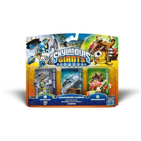 Skylanders Giants Battle Pack: Chop Chop/Dragonfire Cannon/Shroomboom スカイランダーズ ジャイアンツ バトルパック : チョップ・チョップ/ドラゴンファイアー・キャノン/シャロームブーム【北米版】