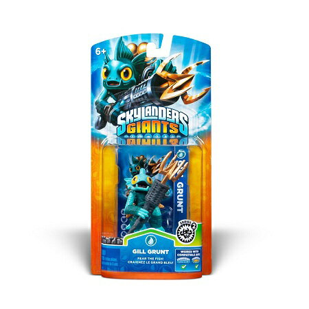 Skylanders Giants Single Character Pack: Gill Grunt スカイランダーズ ジャイアンツ シングルキャラクターパック : ギル・グラント【北米版】