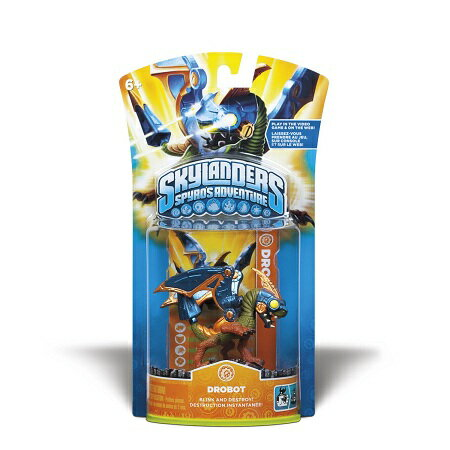 Skylanders Spyro's Adventure Single Character Pack : Drobot スカイランダーズ スパイロズ アドベンチャー シングルキャラクターパック : ドロボット【北米版】