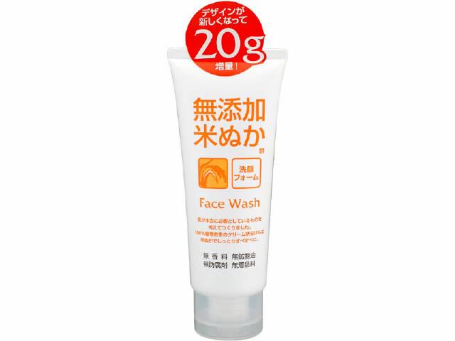 ロゼット ( ROSETTE ) 無添加米ぬか 洗顔フォーム 140g 100%植物由来のクリーム状石けんに米ぬかエキスを配合した洗顔フォーム ( 4901696534069 )
