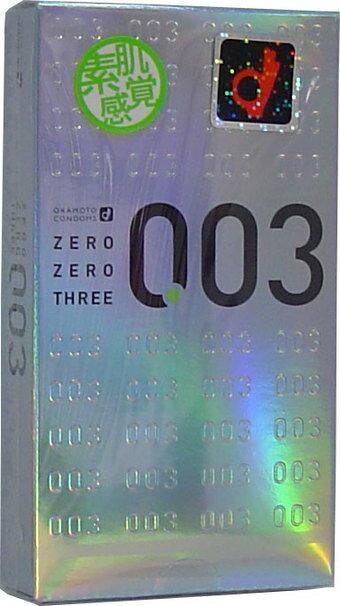 【スキン特売】オカモト 003 ゼロゼロスリー 12個入 ( コンドーム・避妊具 ) ( 4970520232358 )