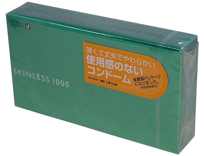 【スキン特売】オカモト スキンレス1000 12個入り ( コンドーム ) ( 4970520231016 )