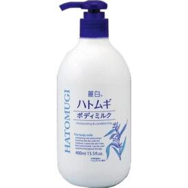 熊野油脂 麗白 ハトムギボディミルク 400ml