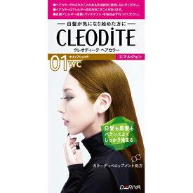 ダリヤ クレオディーテ ヘアカラーエマルジョン 白髪が気になり始めた方用 01WC ホイップショコラ