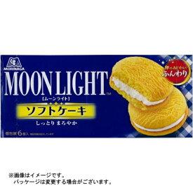 【まとめ買い×6個セット】森永 ムーンライト ソフトケーキ 6個入×1箱