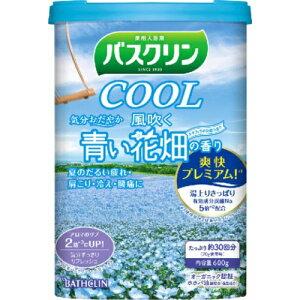 【無くなり次第終了】バスクリン クール 風吹く青い花畑の香り 600g(4548514061774)