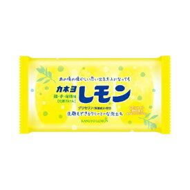 【送料込・まとめ買い×5個セット】カネヨ石鹸 レモン石けん 45g