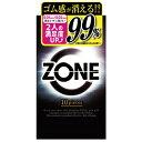 【送料無料・まとめ買い×10個セット】ジェクス コンドーム ZONE ゾーン 10個入