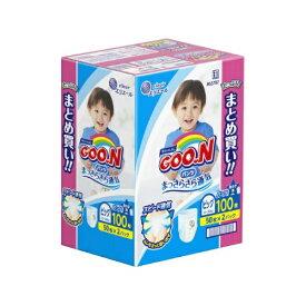 【送料込】大王製紙 グ~ンパンツ まっさらさら通気 B 50枚 男の子×2