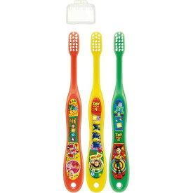 スケーター 園児用 歯ブラシ 3P キャップ付 トイストーリー4 TB5ST