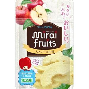 【送料込・まとめ買い×6点セット】ビタットジャパン ミライフルーツ りんご 12g