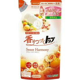 【送料込・まとめ買い×5個セット】ライオン 香りつづく トップ Sweet Harmony つめかえ用 720g