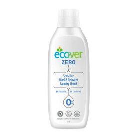 【送料込・まとめ買い×5個セット】ジョンソン ECOVER エコベール ゼロデリケート 1000ML おしゃれ着用洗たく洗剤