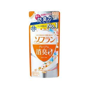 【送料込・まとめ買い×6点セット】ライオン ソフラン プレミアム消臭0 アロマソープの香り つめかえ用 420ml 柔軟剤