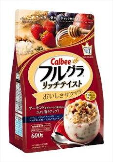 Calbee full GRA richtevist 600 g (food, breakfast, Granola) (4901330741938)