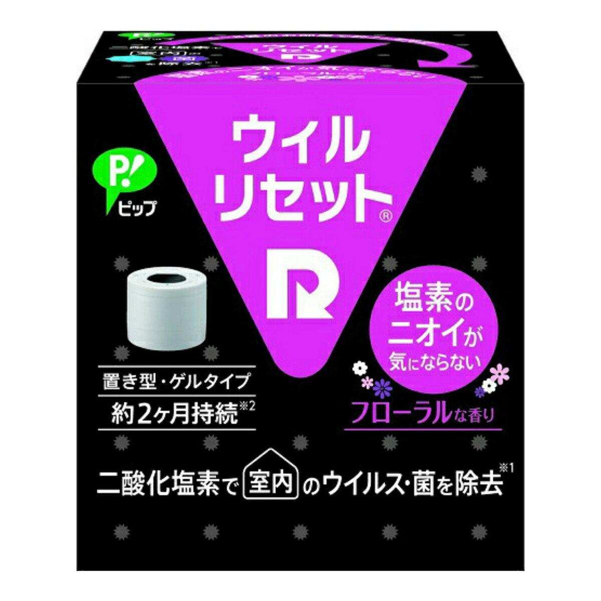 ピップ ウィルリセット フローラルな香り 置き型 (4902522672368)