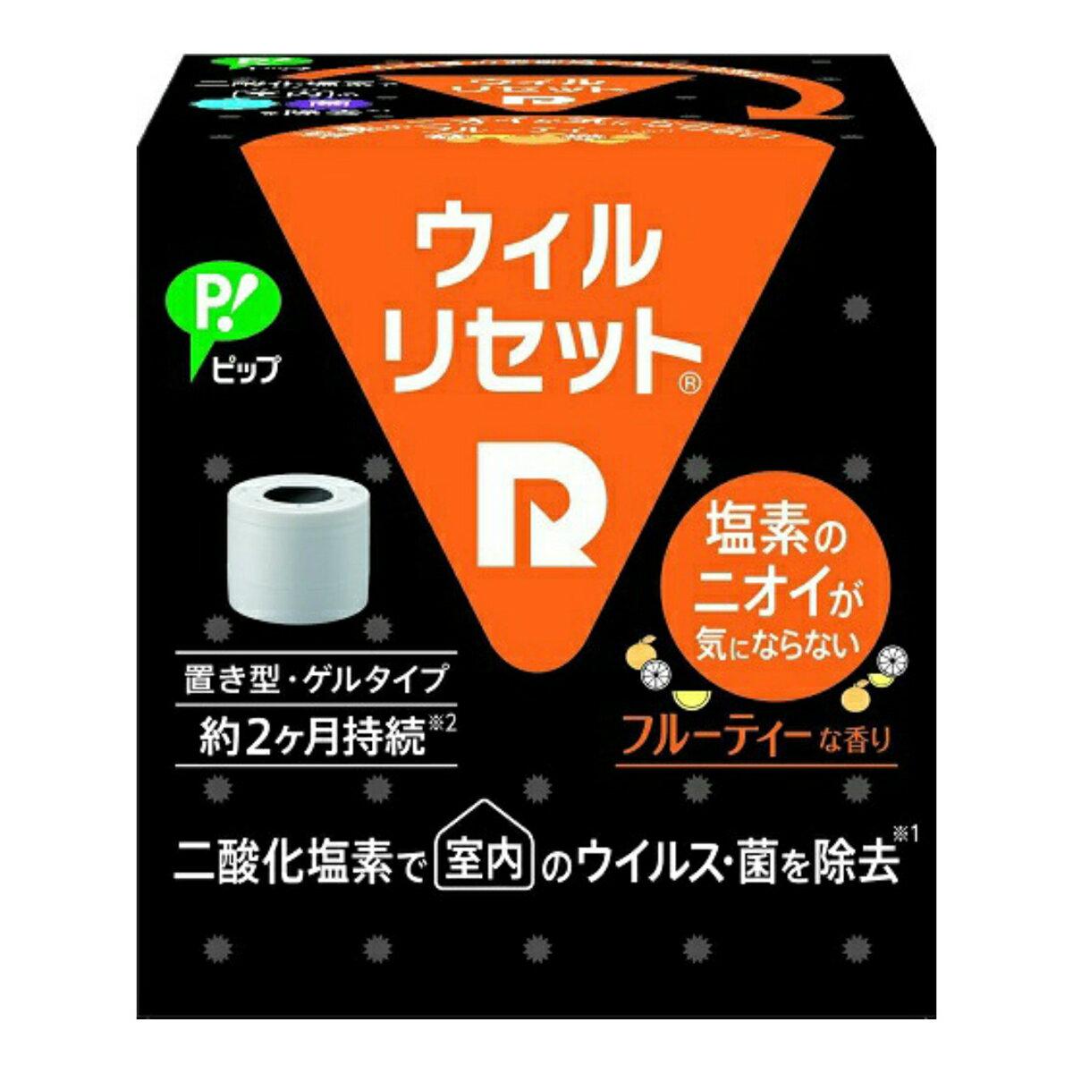 【送料無料・まとめ買い×10】ピップ ウィルリセット 置き型 フルーテイーな香り ×10点セット(4902522672375)