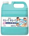 【送料込】【業務用サイズ】ライオン キレイキレイ 泡で出る消毒液 4L 業務用 (4903301126478)