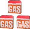 정 산업 イワタニ 카세트 가스 (카셋트 봄 베) 오렌지 3 개 팩 CB-250-OR イワタニカセットフーシリーズ 전용 × 3 점 세트 (4901140923838)