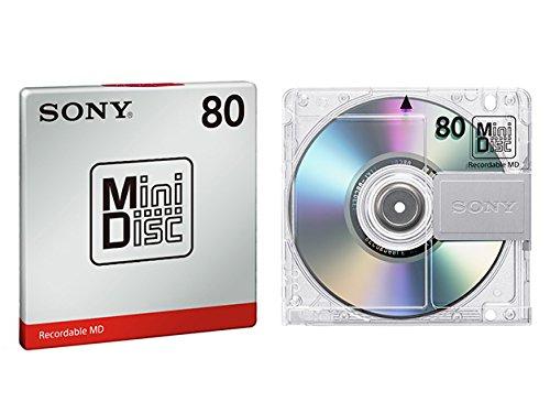 【送料無料・まとめ買い×3】SONY ミニディスク 80分、1枚パック) MDW80T×3点セット(4548736017160)