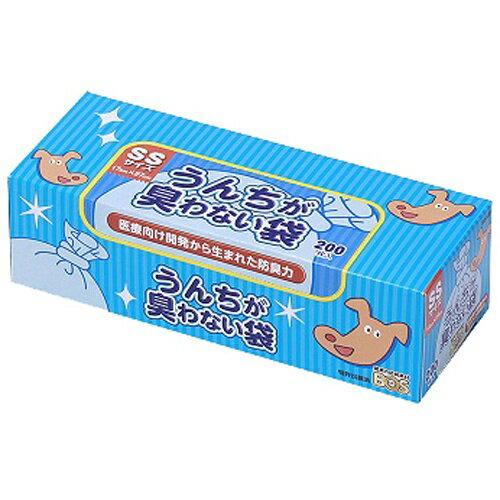 【送料無料】クリロン化成 BOS ボス うんちが臭わない袋 ペット用箱型 SSサイズ 200枚入 (ペット用品 犬用糞尿処理)(4560224462191)