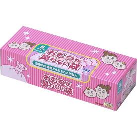 【送料無料】クリロン化成 BOS ボス おむつが臭わない袋 ベビー用箱型 Sサイズ 200枚入(4560224462351)