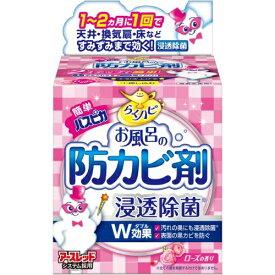 【 令和・新元号セール7/15 】アース製薬 らくハピ お風呂の防カビ剤 ローズの香り 1個 (4901080653819)