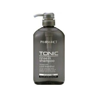 Pharma act cool tonic shampoo body 600 ML x 5-piece set (4513574011663)