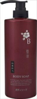 志贵 oriori 椿中岛机械身体肥皂瓶 600 毫升 (4513574017269)