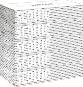 【送料込・まとめ買い×9点セット】スコッティ ティシュー 400枚 ( 200組 ) ×5箱パック ( 箱ティシュー、ボックスティッシュ )(4901750417352 )