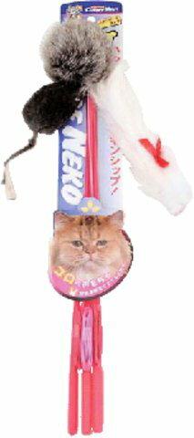 ドギーマンハヤシ じゃれ猫 トリオ ( ペット用品 ネコ用グッズ ) ( 4976555842616 )
