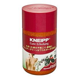 クナイプ グーテエアホールング バスソルト ウィンターグリーン&ワコルダーの香り 850g(4580294850506)