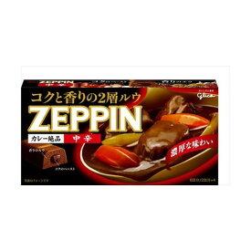 【送料込】グリコ カレー ZEPPIN 中辛 175g×60個セット (食品・カレー)( 4901005204874 )