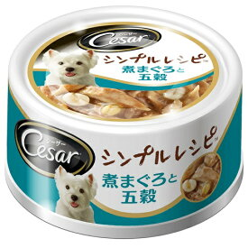 CEC4 シーザー シンプルレシピ 煮まぐろと五穀 80G (45175343)